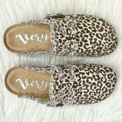 Lulu Leopard Mules
