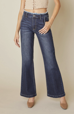 Holly High Rise Flair Jeans by KanCan