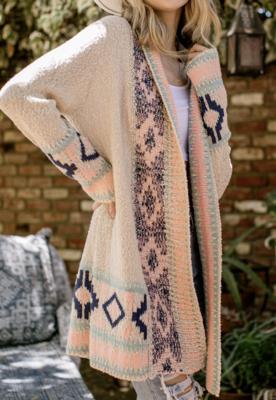 Heidi Aztec Cardigan Sweater