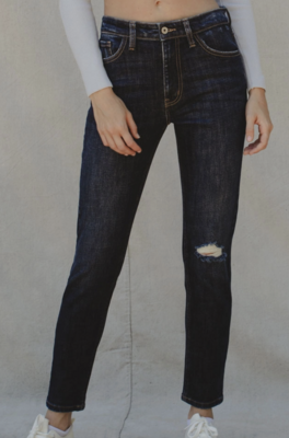 Emmy HR Cigarette Fit Jeans by KanCan