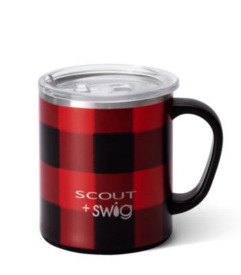 12 oz Flannel Camper Mug by Swig