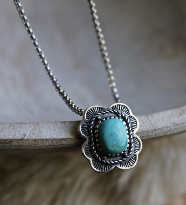 Asia Turquoise Necklace