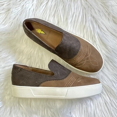 Rosecrans Embossed Leather Slip-On by Volatile