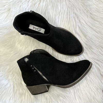 Divine Black Booties by Very G