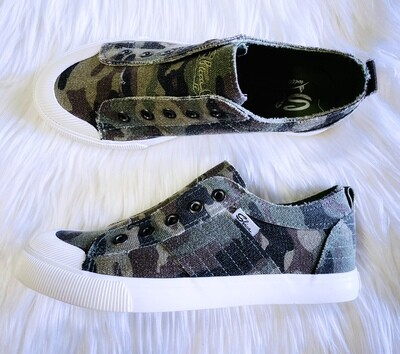 Camo Slip On Sneakers by Sbicca