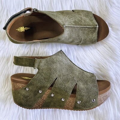 Fall In Love Suede Wedges