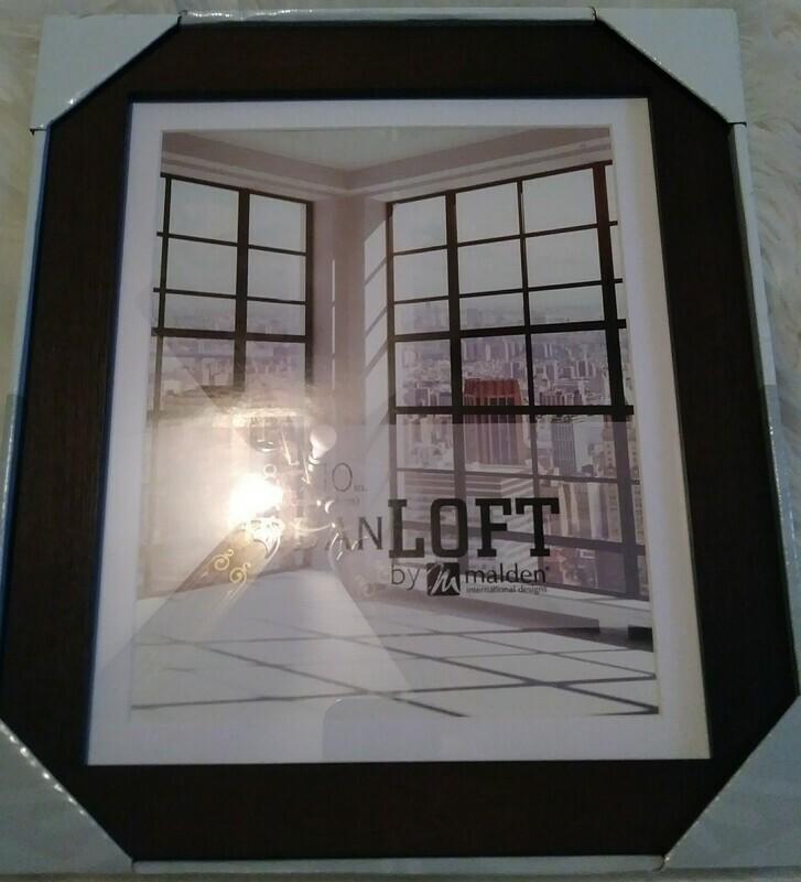 Malden International Design Wood Veneer Photo Frame