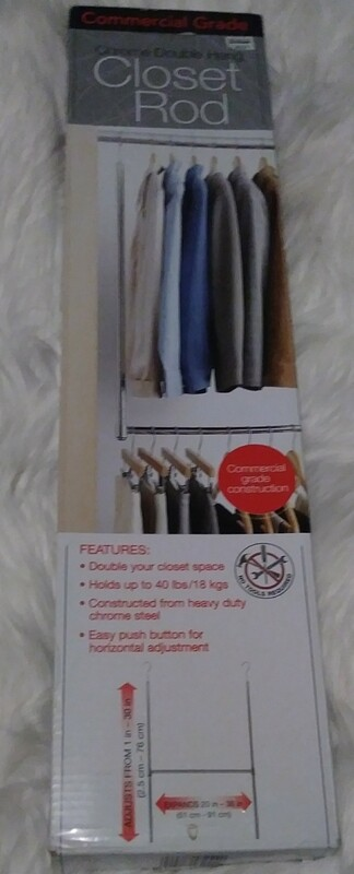 Commercial Grade Closet Rod