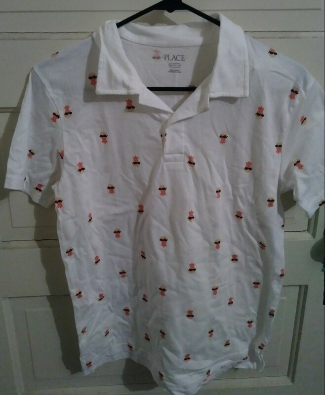 Youth XXL Pineapple Polo