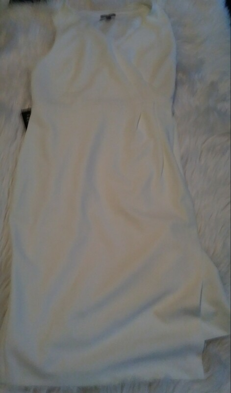 Express Medium Women's White Dress