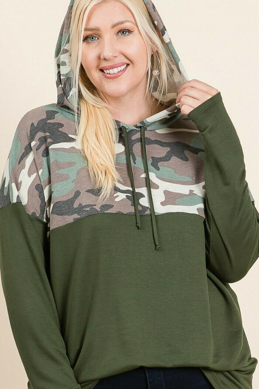 Army Long Sleeve Hoodie
