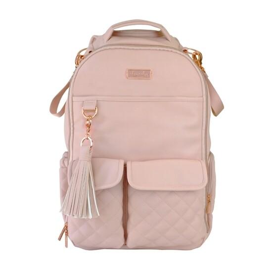 Blush Boss Diaper Backpack