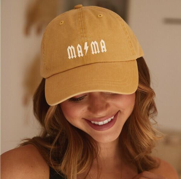 Mama Bolt Hat, Gold