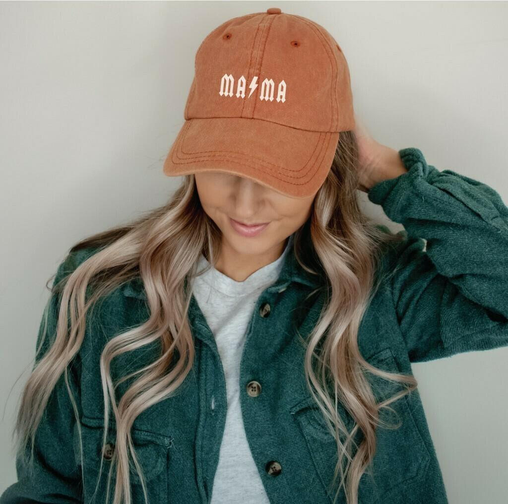 Mama Bolt Hat, Orange