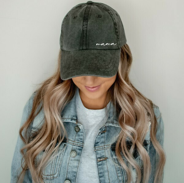 Mama Vintage Hat, Pepper