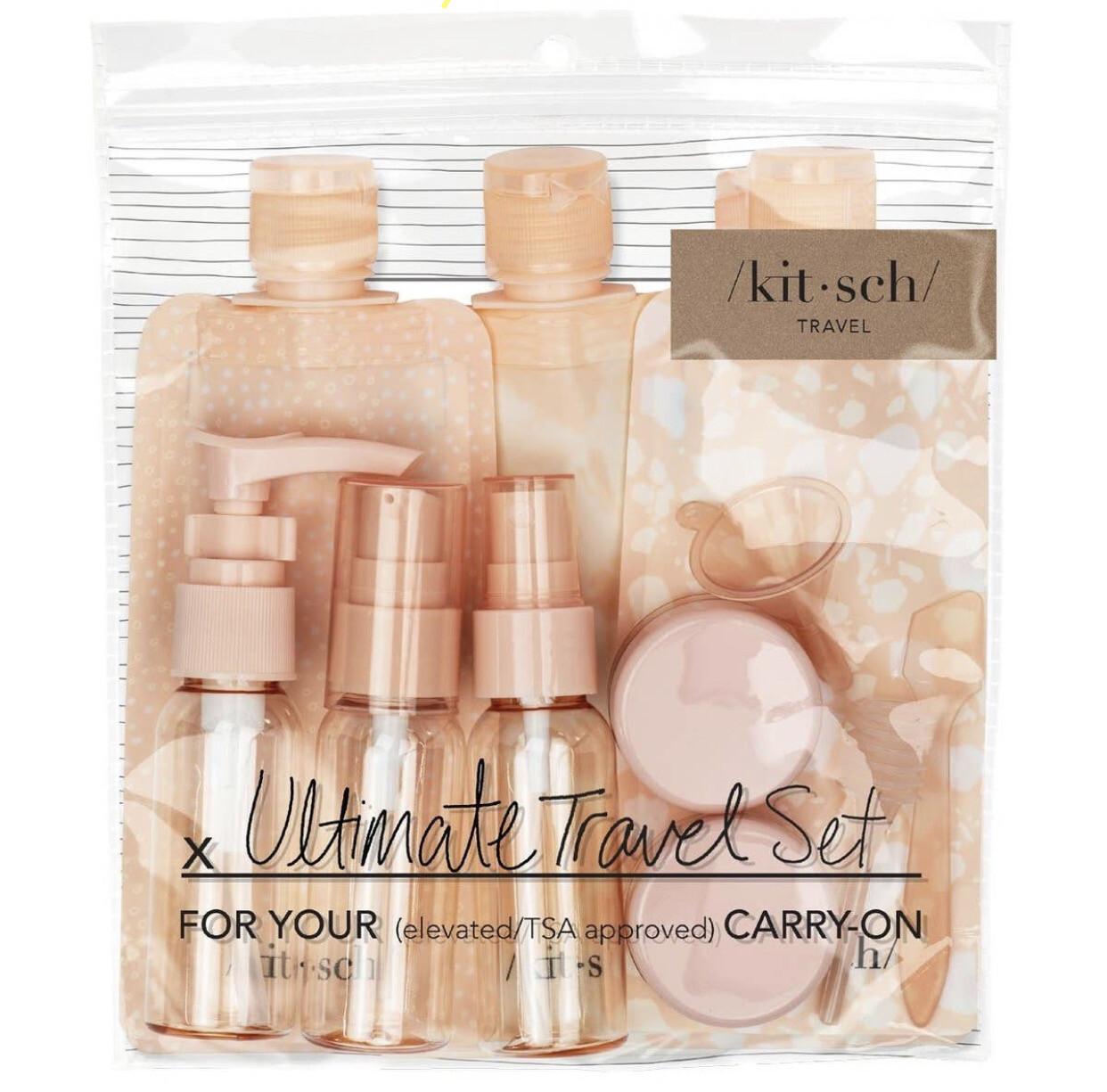 Kitsch Travel Set, Blush
