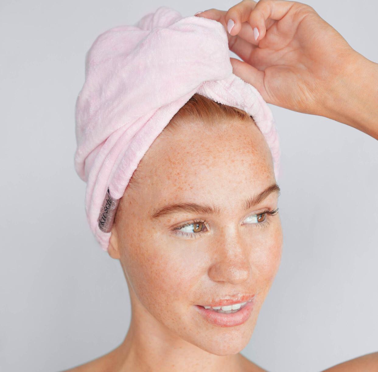 Hair Towel, Blush