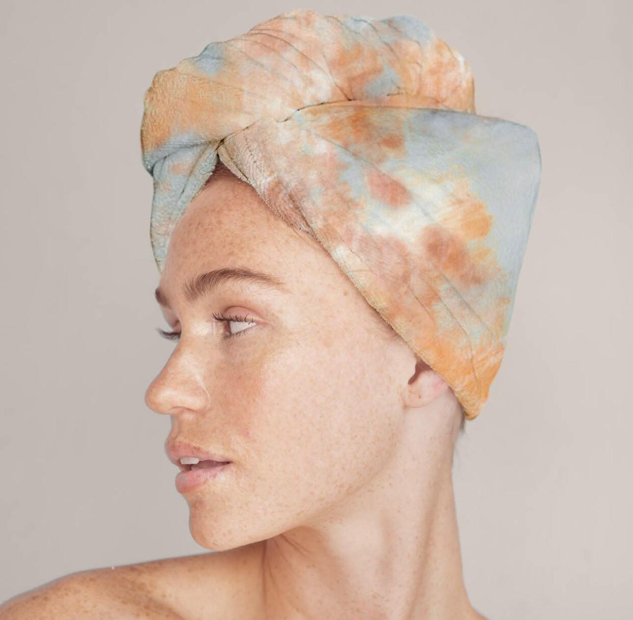 Hair Towel, Tie Dye
