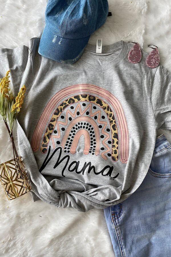 Rainbow Mama Tee