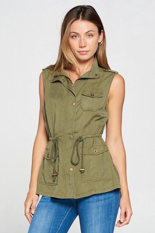 Utility Vest, Olive