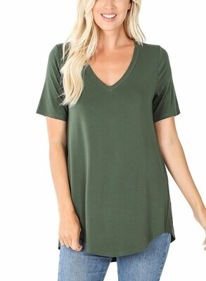 Fave Tee, Green
