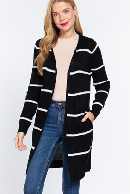 Stripe Duster Cardigan