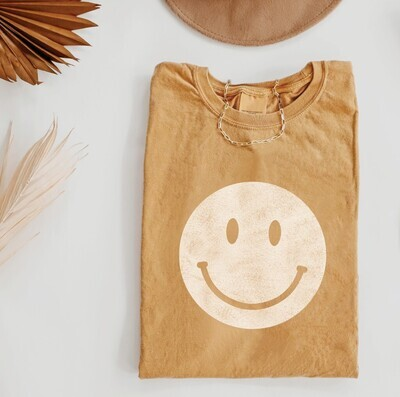 Smiley Graphic, Gold