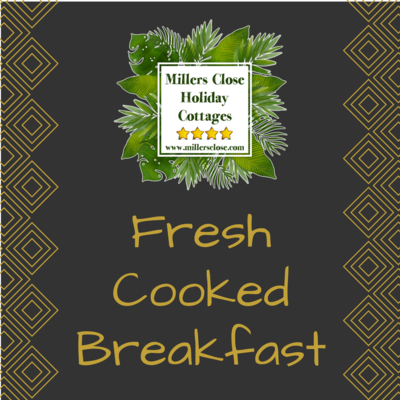 Fresh Cooked Breakfast (Per Person)