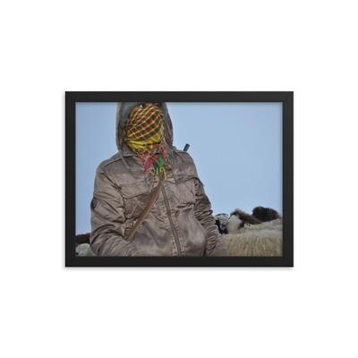 Курдский пастух в ночи в горах Западной Армении. Фото Эдуарда Гукасова.