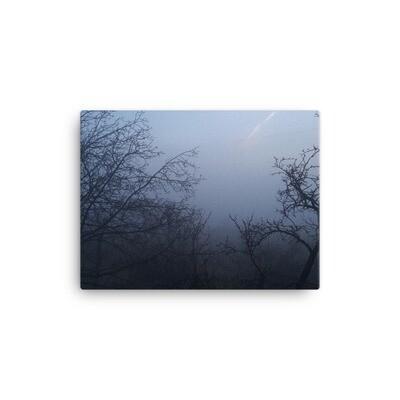 Утро в Мухрантелети. Принт на холсте. Фотография Георгия Арутюнова.
