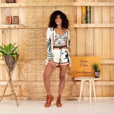 Toucan Print Shorts