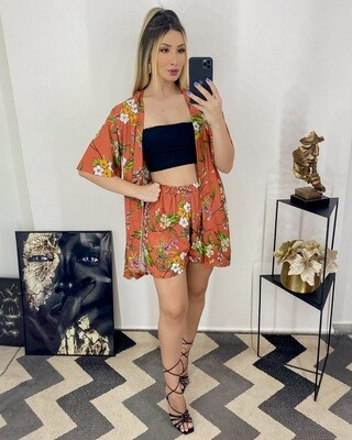 Summery Kimono Set