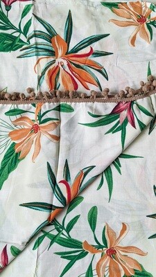 Tropical Floral Sarong