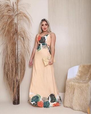 Miss Monstera Maxi Dress