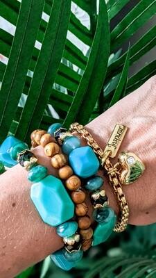 Set Of 4 Bracelets, Inspire