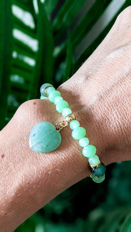 Brazilian Jade Stone Bracelet