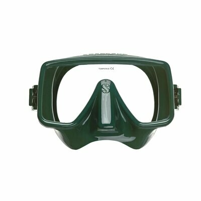 FRAMELESS DIVE MASK green or white