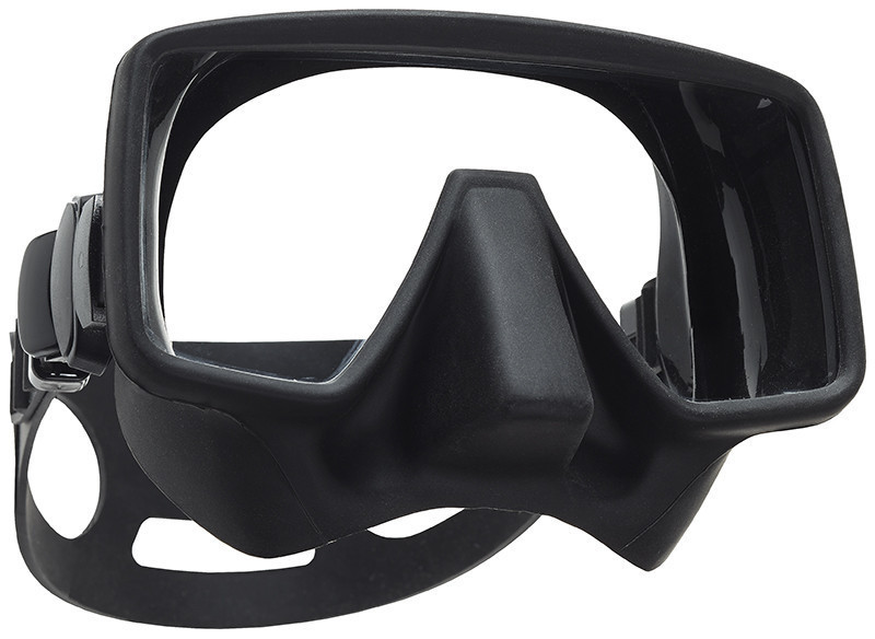 GORILLA FRAMELESS DIVE MASK black matte or clear