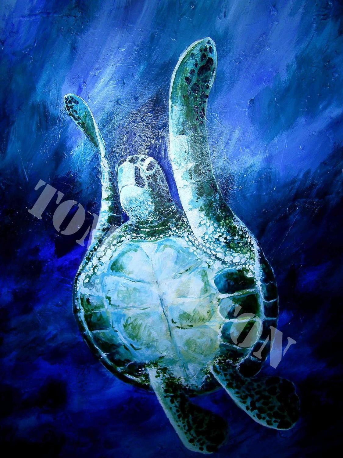 Turtle Rising (Print only)