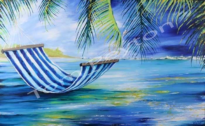 Fiji Time-24 x 36 Acrylic Original