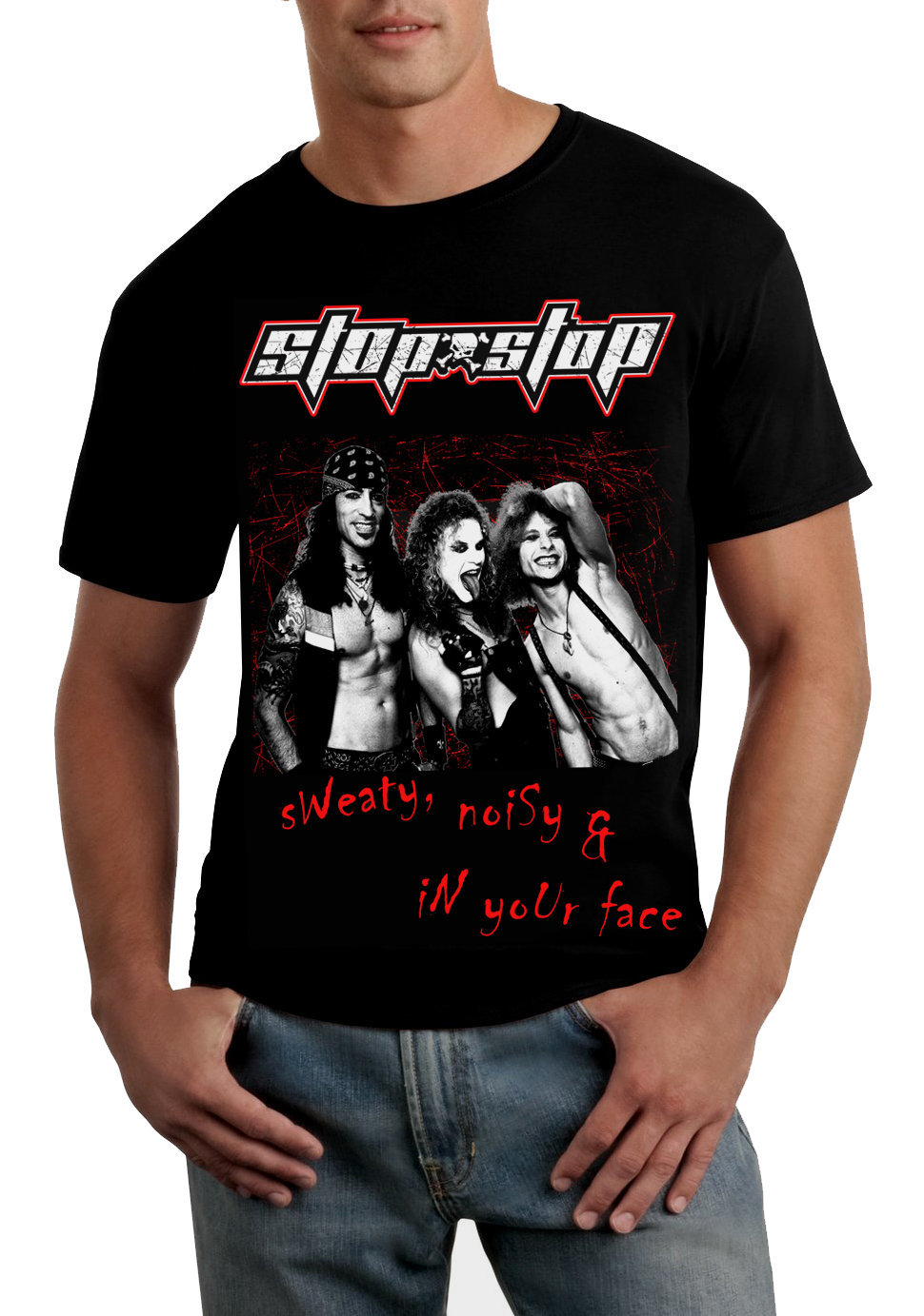 "8 - ""SN&In your face"" T-Shirt"