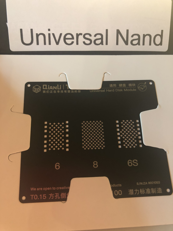 Universal NAND Stencil---Black 3D by QianLi