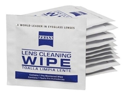 Microscope Lens Cleaning Wipes (10pk)