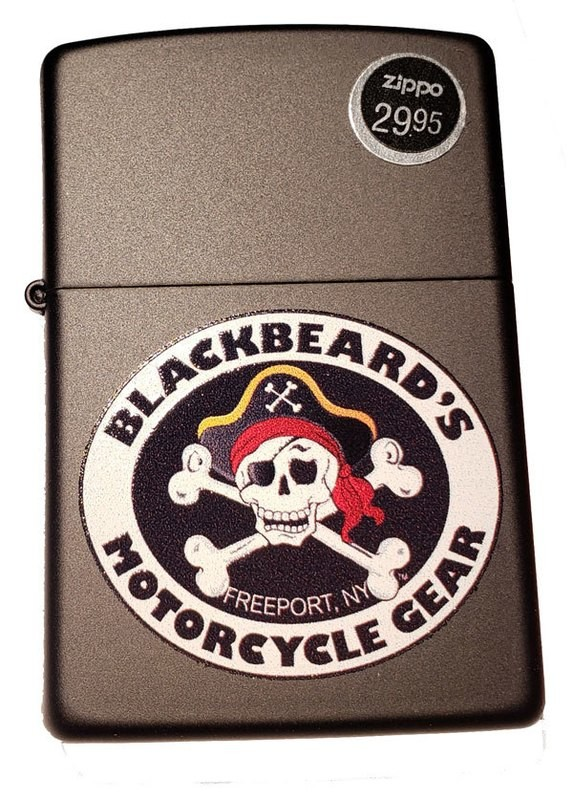 Blackbeard's Gear Genuine Zippo Lighter
