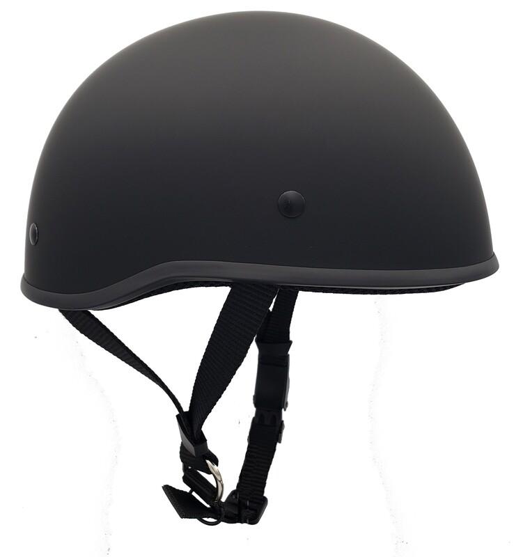 Smallest DOT Helmet - HamrHead Curve Matte
