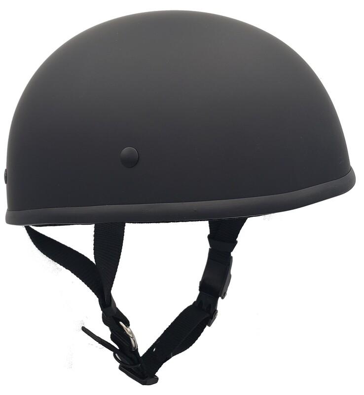Smallest DOT Helmet - HamrHead Shorty Matte
