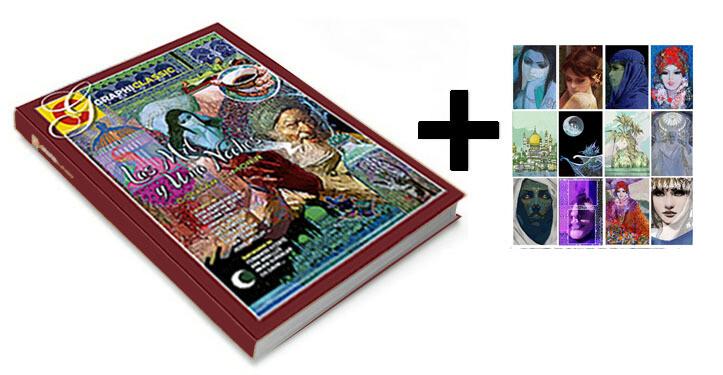 Graphiclassic Las mil y una noches: contar o morir + 12 tarjetas