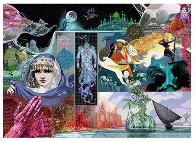 Poster de 70 x 50 cm Las mil y una noches