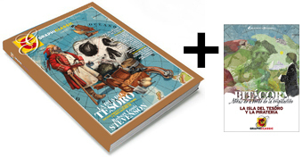 Graphiclassic 2 La Isla del Tesoro + Bitácora de regalo