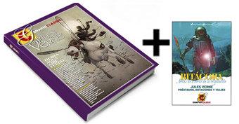 Graphiclassic 4 Jules Verne Tomo 2 + BITÁCORA DE REGALO